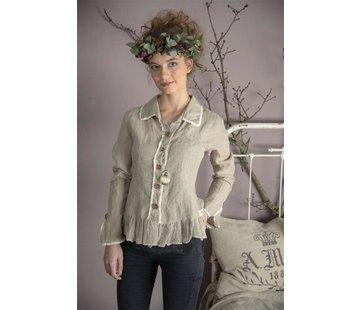 Jeanne d`Arc Living Bluse | Pure affections - Linen color