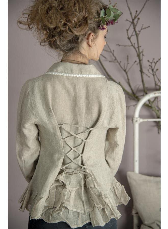 Bluse | Pure affections - Linen color