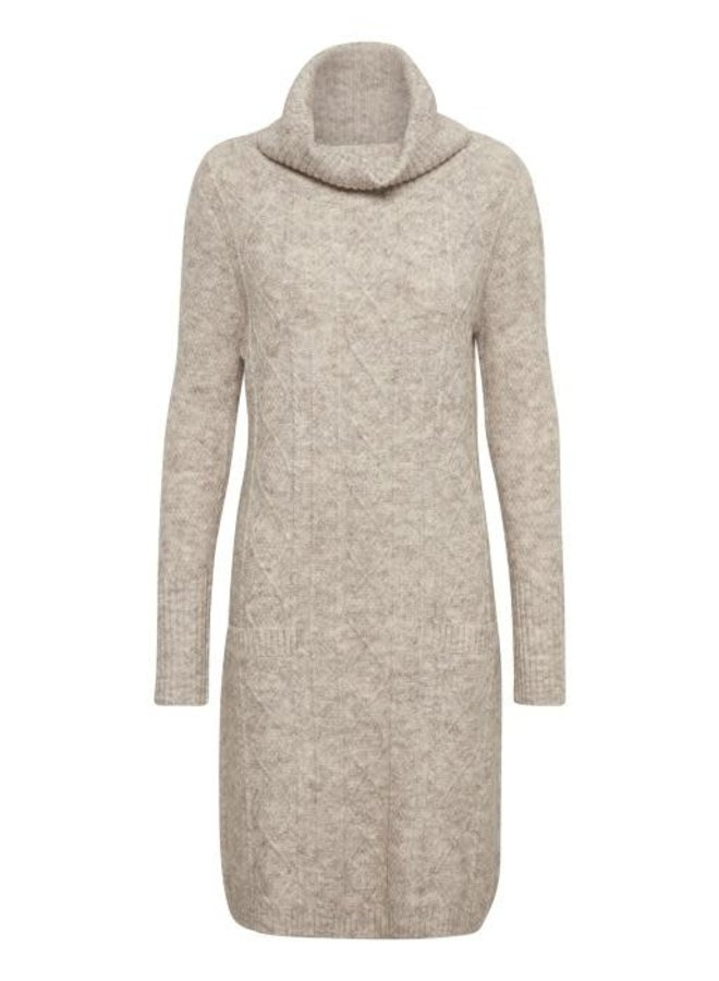 Strickkleid   Andy Knit Dress - Light Beige