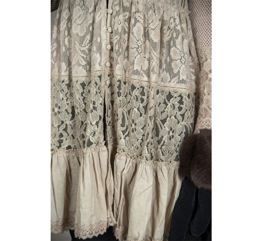 Tunika | Delightful past - Dark linen