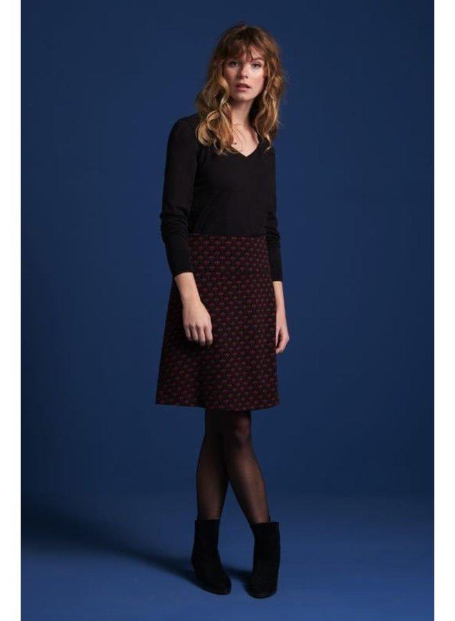 Rock   Border Skirt Nalini - Black