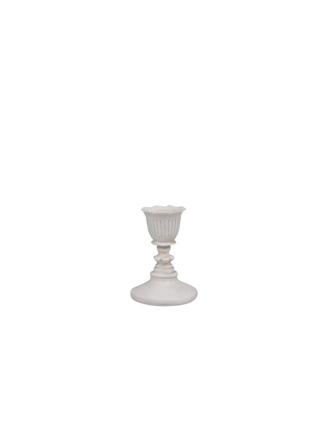 Kerzenständer Shabby Chic - Antikcreme - H8