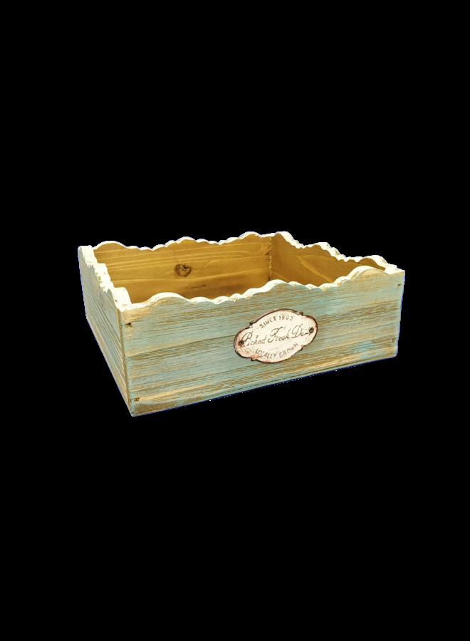 Serviettenhalter Vintage Wood Mint