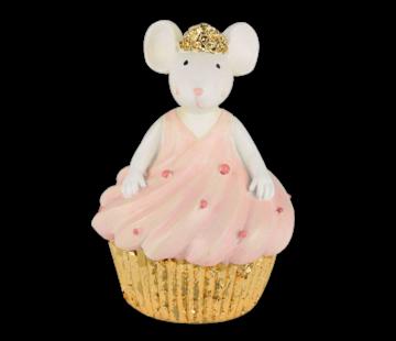 Christbaumschmuck Cupcacke Mouse