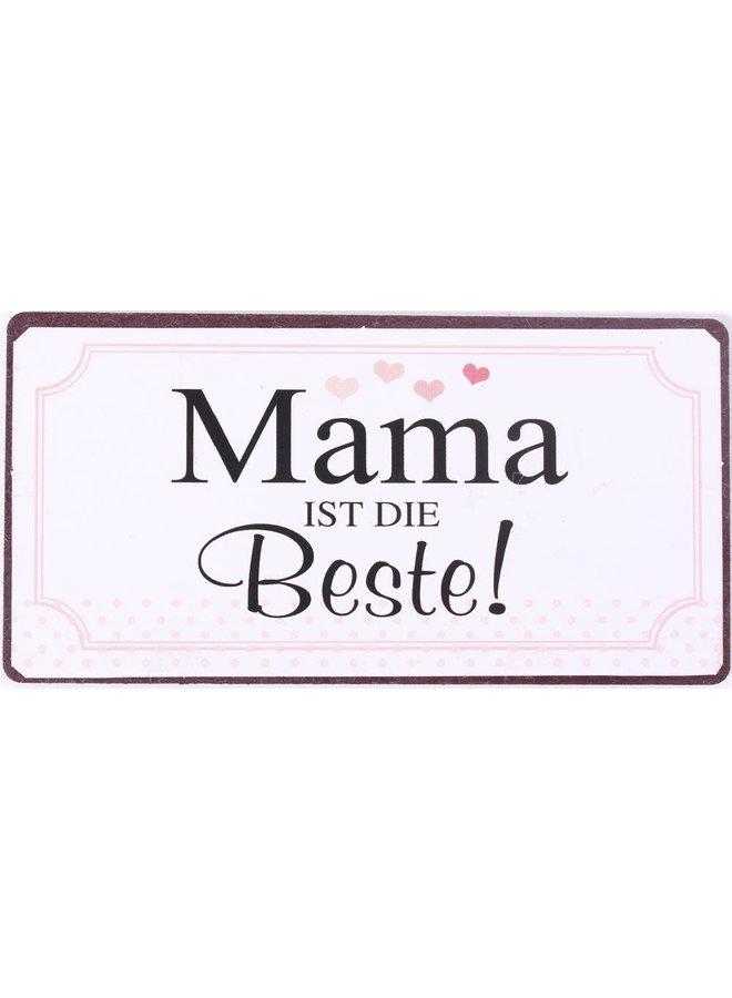 "Kühlschrankmagnet ""Mama ist die Beste"""
