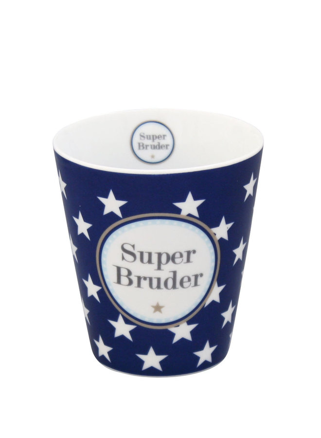Tasse Happy Mug - Super Bruder