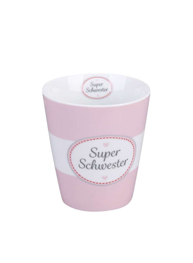 Tasse Happy Mug - Super Schwester
