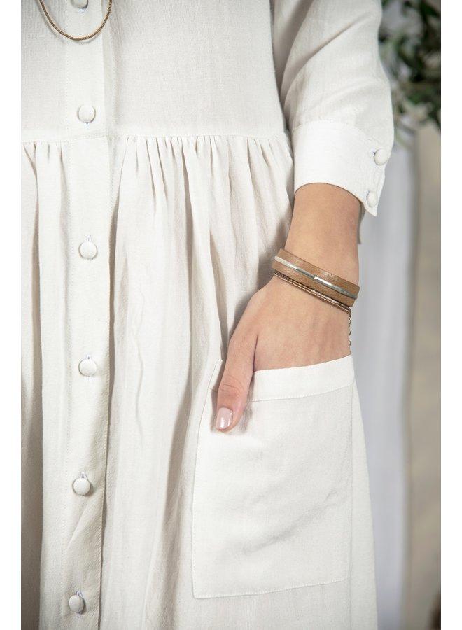 Kleid | Sofie - Cream