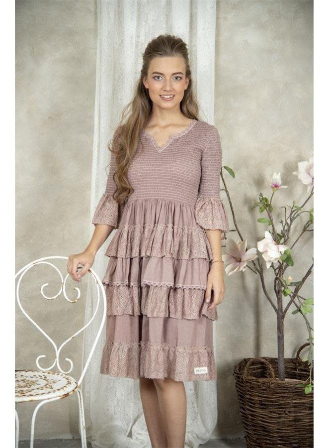Kleid   Nanna - Delightful plum