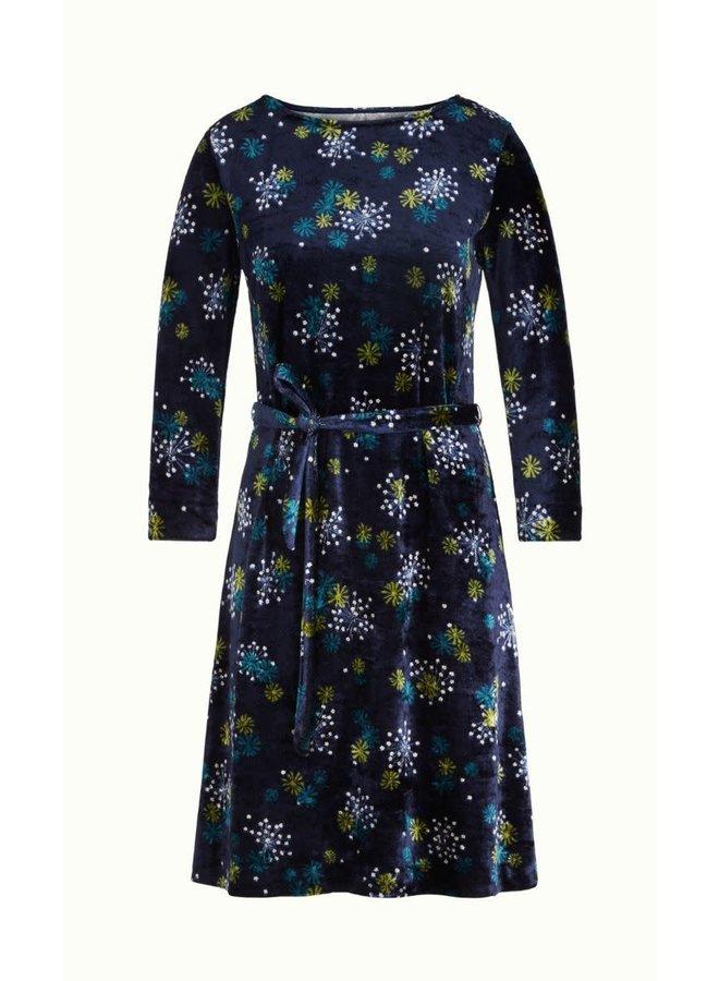 Kleid | Zoe Dress Stardust | Blue