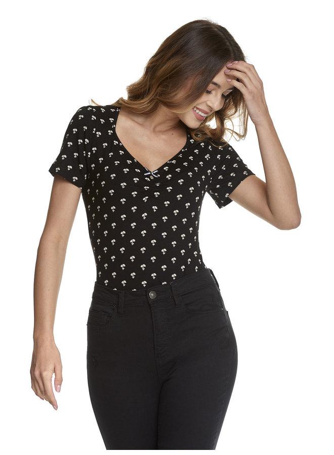 Shirt | Petite Marguerite Shirt - black