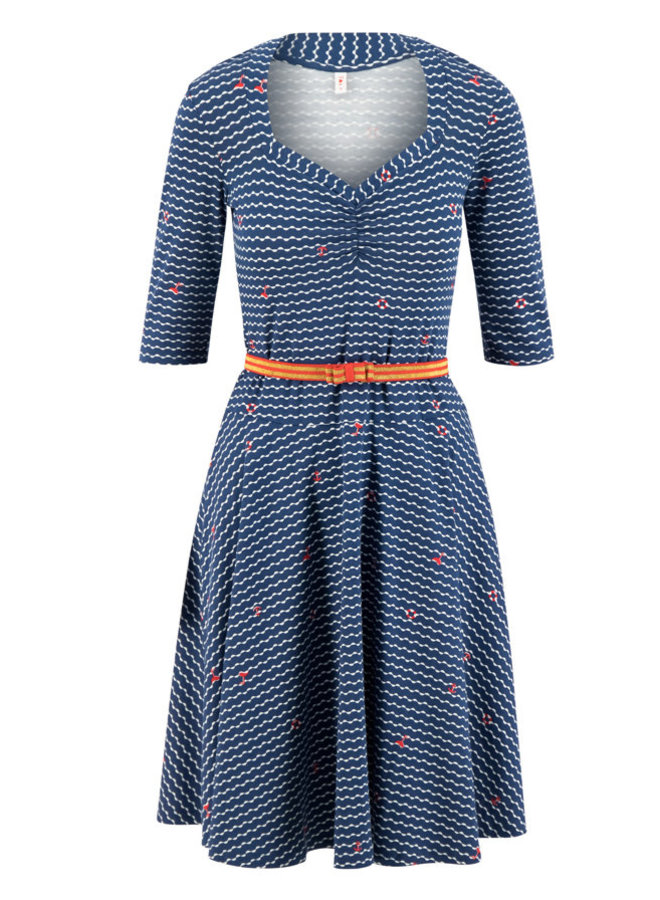 Kleid | suzie the snake dress - over the ocean