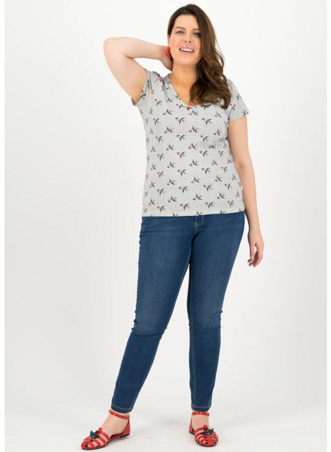 T-Shirt | sunshine camp t-shirt - carrie the cherries