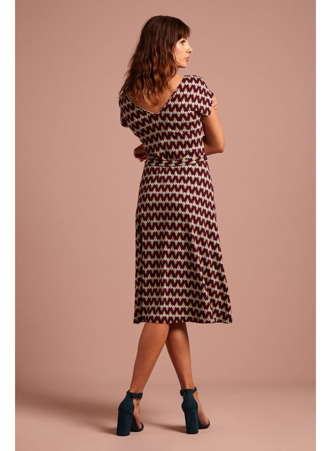 Kleid | Mira Dress Namaste - Vivid Purple