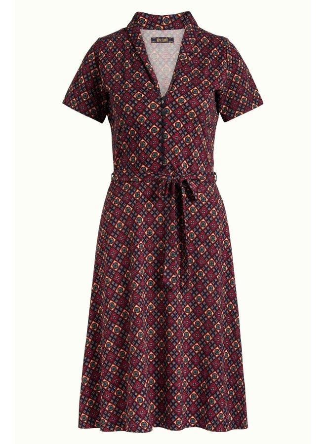 Kleid | Emmy Dress Lisboa - Night-Sky Blue