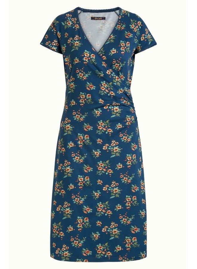 Kleid | Cross Dress Lucky - Tile Blue