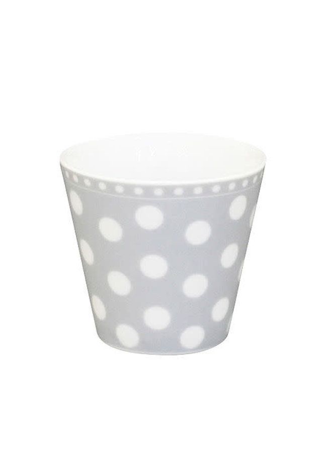 Espresso Tasse | Happy Mug-Grey Dot