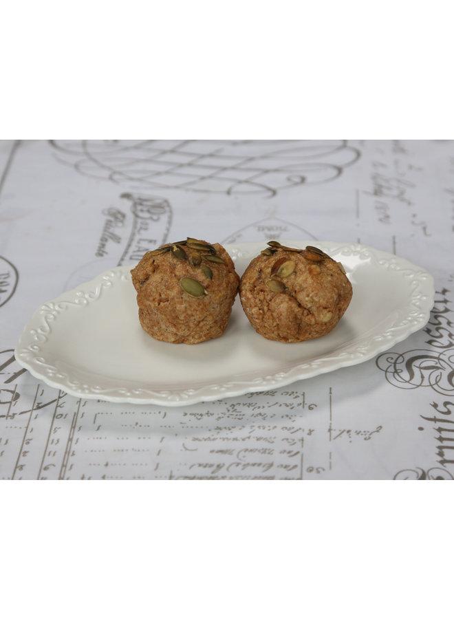 Dessertteller Provence OVAL - Porzellan Weiss