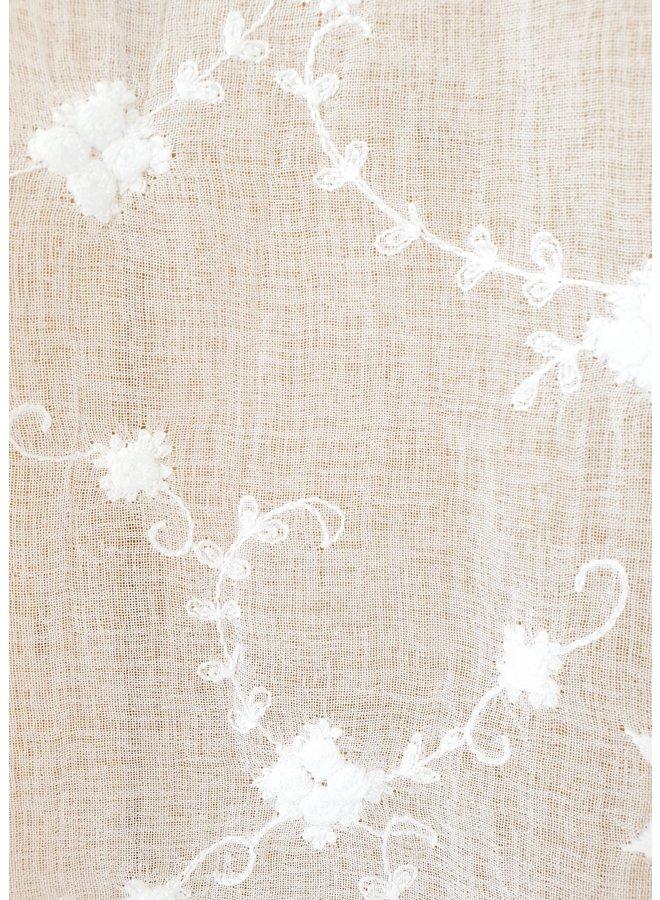 "Vorhang mit Spitze ""Rose"" - 200x250cm"