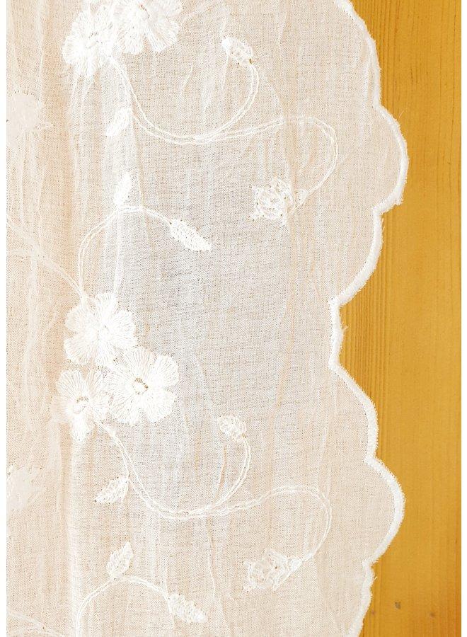 "Vorhang mit Spitze ""Maria"" - 200x250cm"