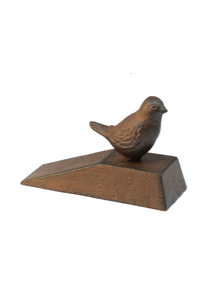 """Türstopper """"Vintage Bird"""" aus Gusseisen"""