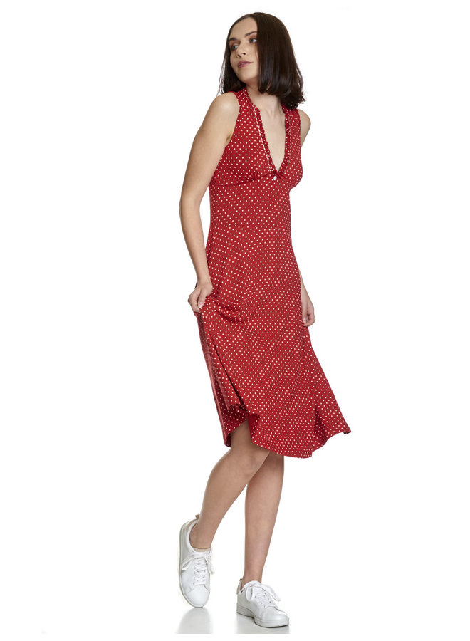 Kleid   My Monaco Kiss Dress - red/allover