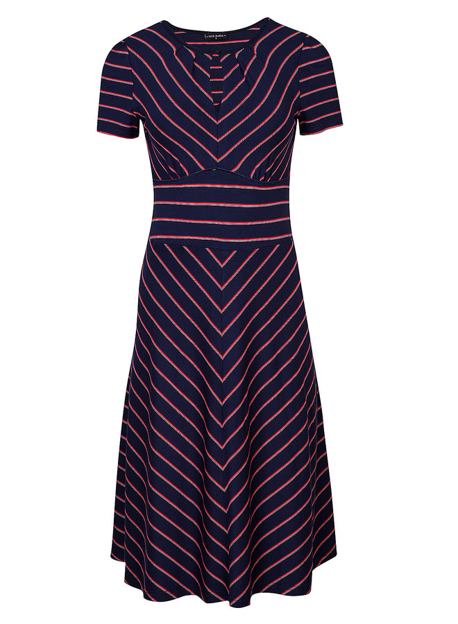 Kleid | Rivage Dress - blue/allover