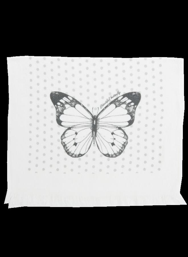 """Gästetuch """"Butterfly"""" - 40x60 cm Baumwolle"""