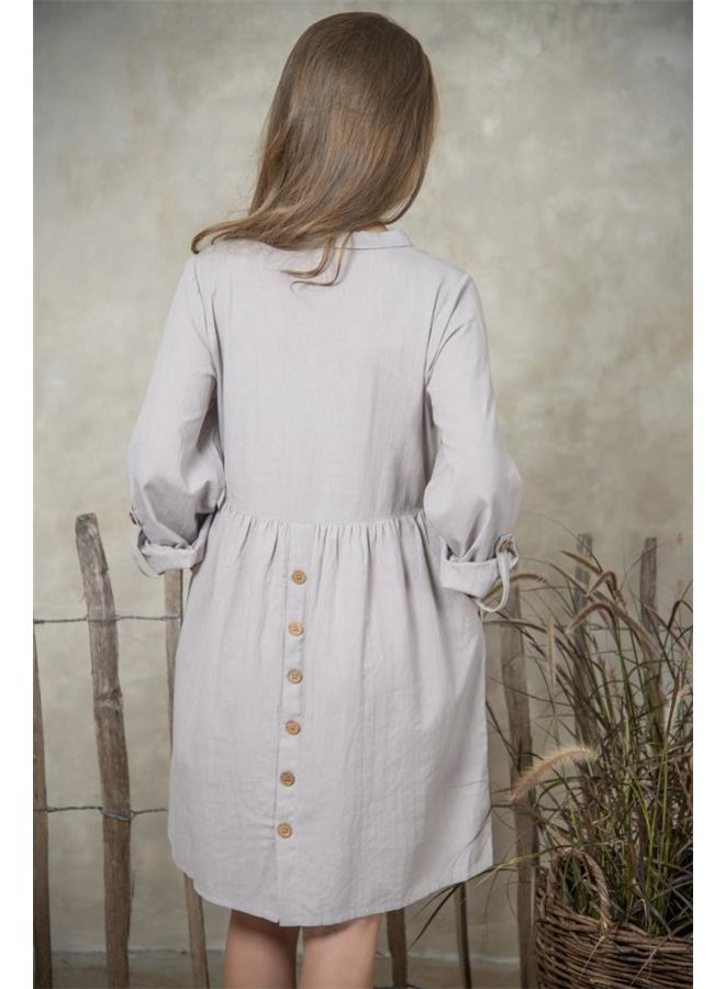 Kleid | Astrid - Grey