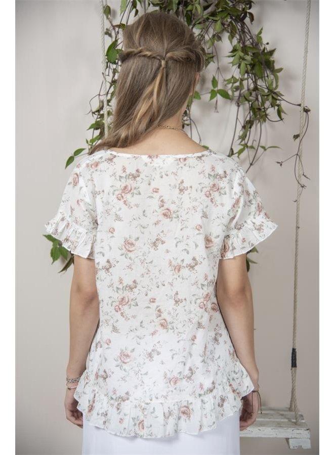 Bluse | Jane - Flowerprint