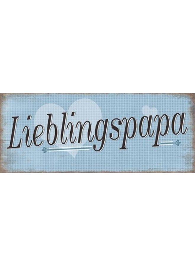 """Kühlschrankmagnet """"Lieblingspapa"""""""