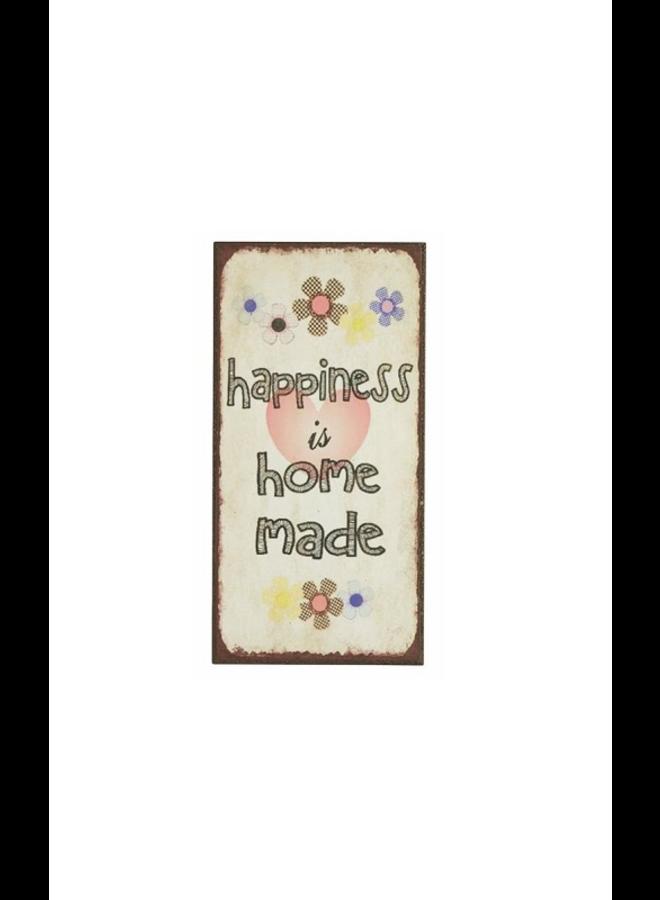 "Kühlschrankmagnet ""Homemade Happiness"""