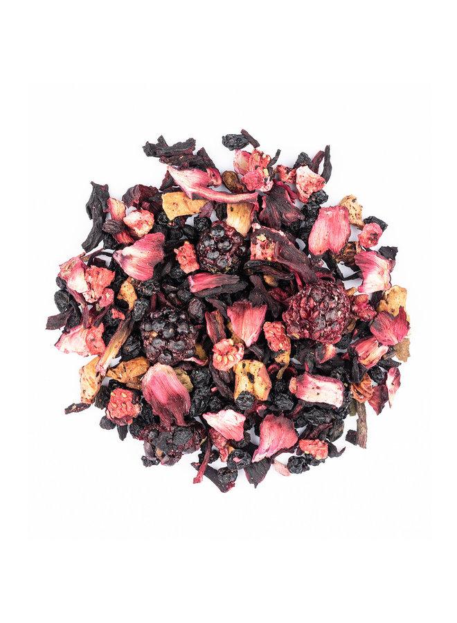Früchteteemischung - Obst in Tassen