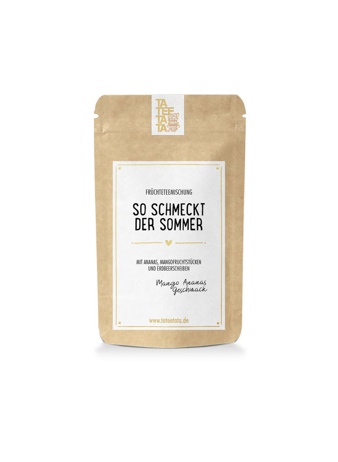 Früchteteemischung - So schmeckt der Sommer