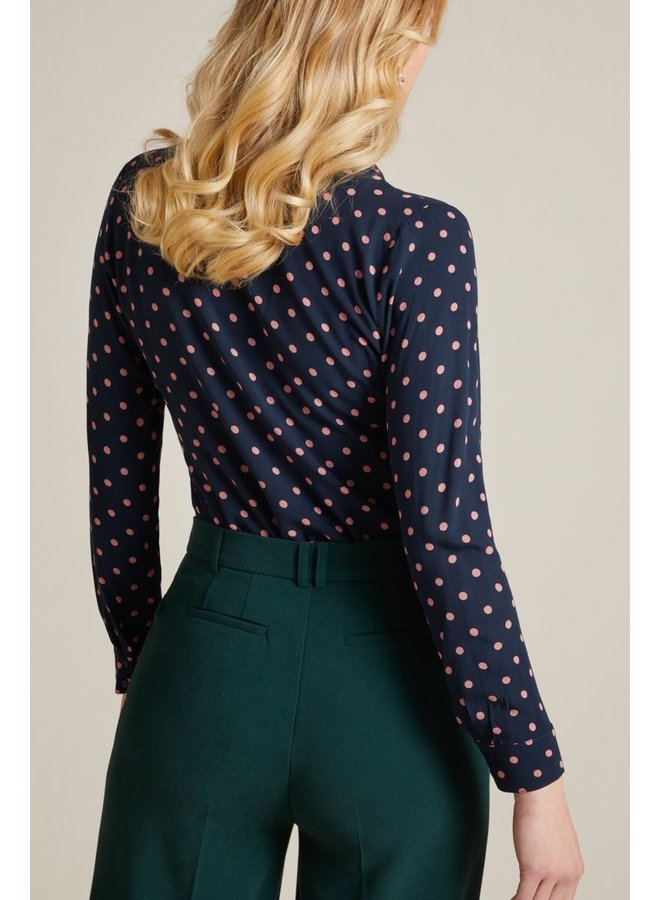 Bluse - Daisy Blouse Pablo - Night Blue