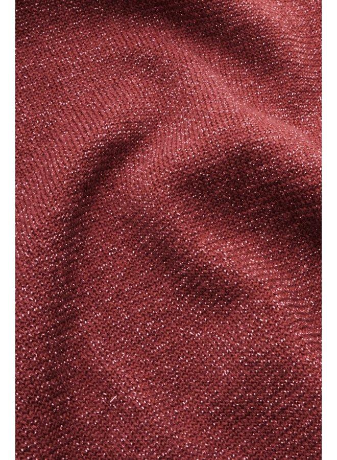 Cardigan - Cardi Roundneck Organic Lapis - Velvet Pink