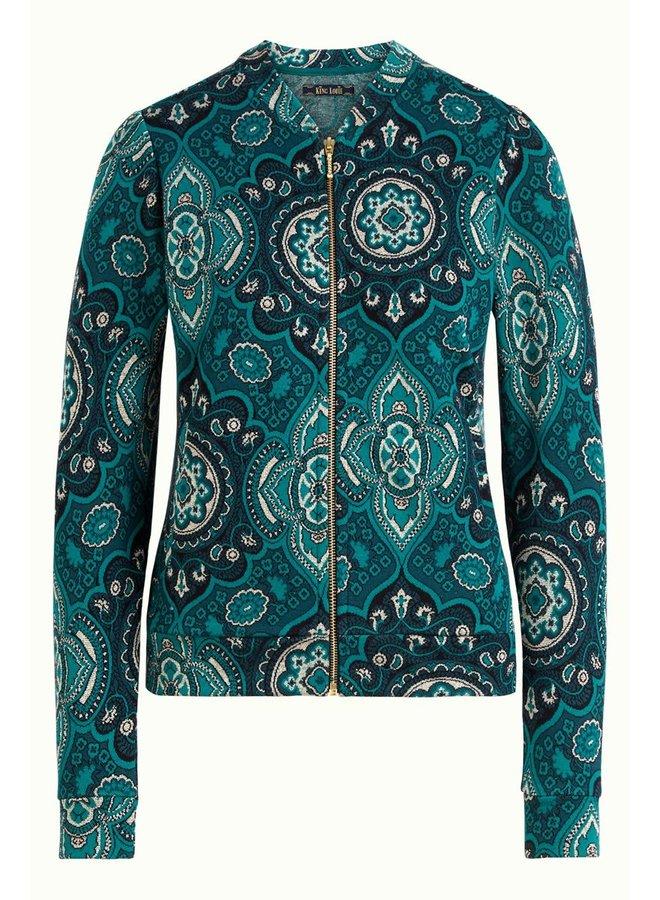 Jersey-Blouson - Iris Jacket Regal - Dragonfly Green