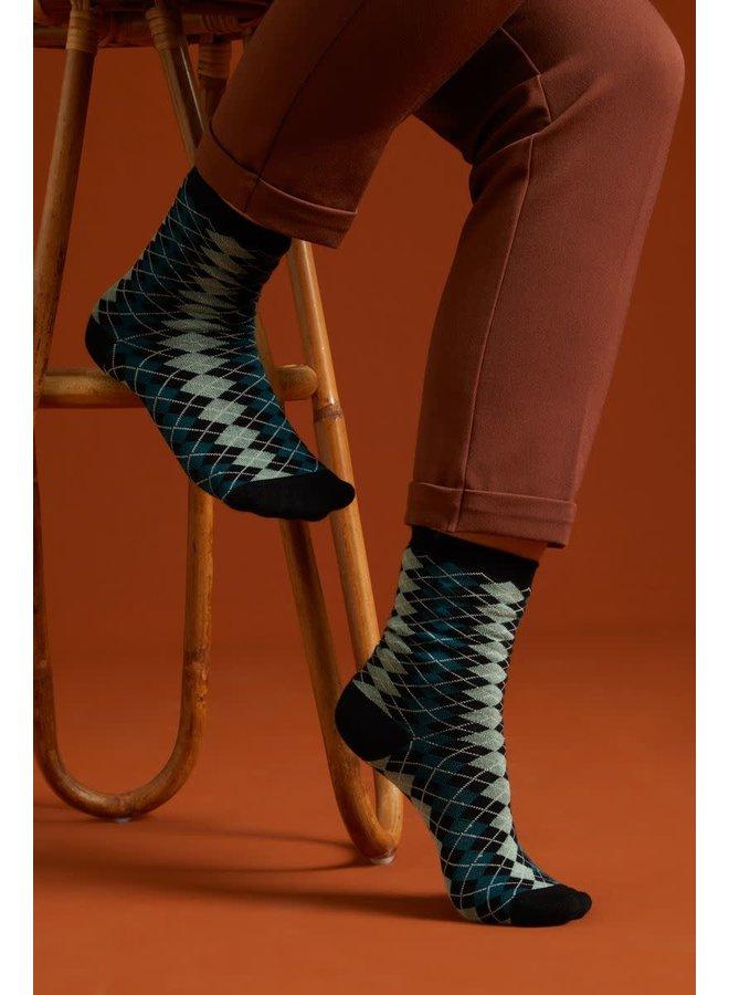 2 Paar Socken - Socks Aberdeen - Dragonfly Green