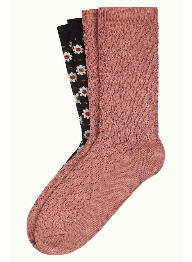 2 Paar Socken - Socks Tate - Black