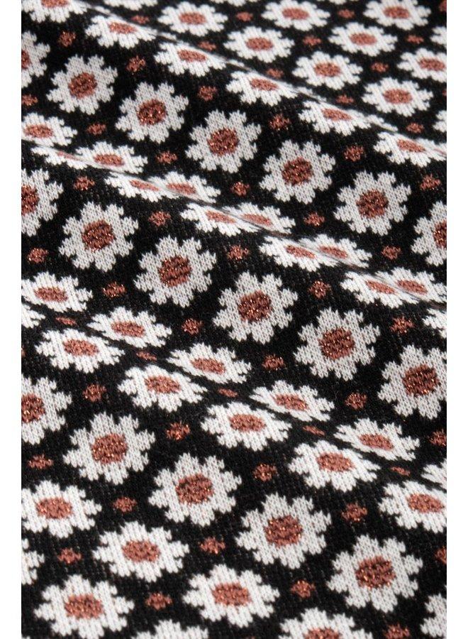 Kleid - Cross Tulip Dress Tate - Black