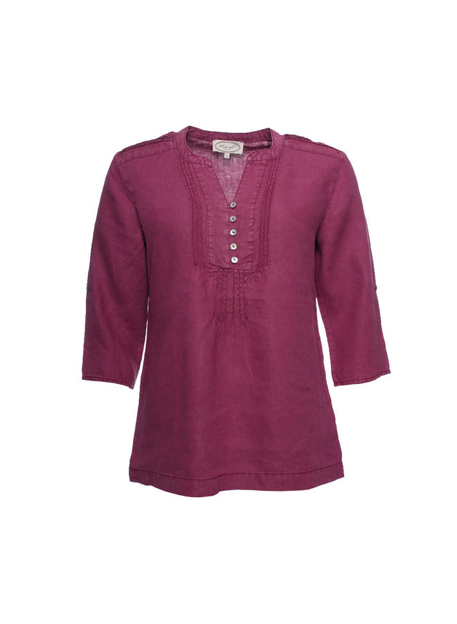 Bluse | Anouk-raspberry