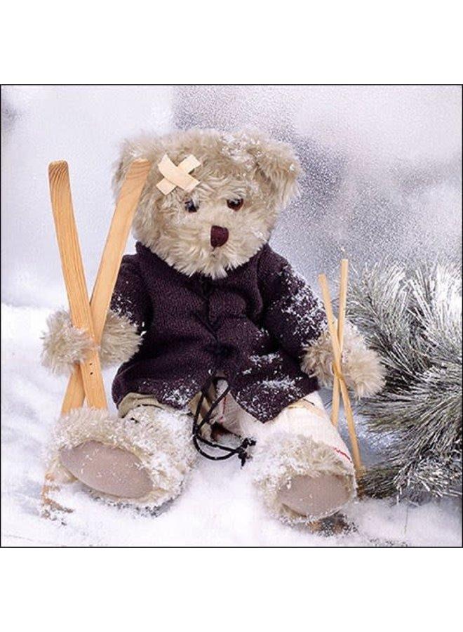 "Servietten ""Teddy"" - 30x30cm - FSC"