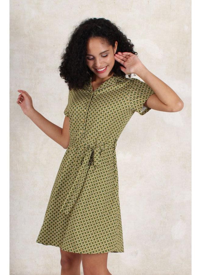 Kleid Clara retro - amber