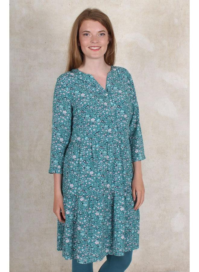 Kleid Phillina - aquamarine