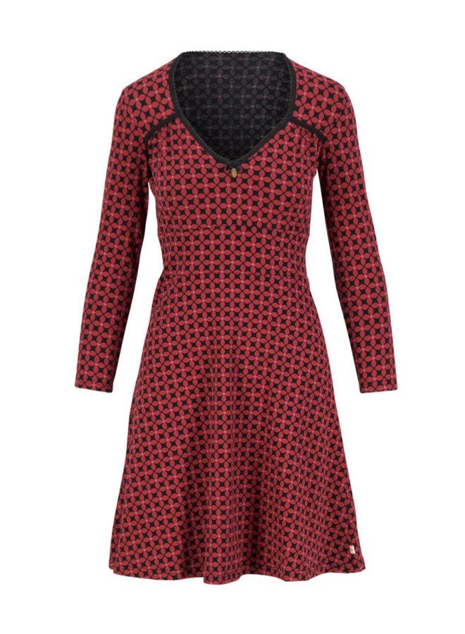Kleid - diamond heart robe - anni autumn