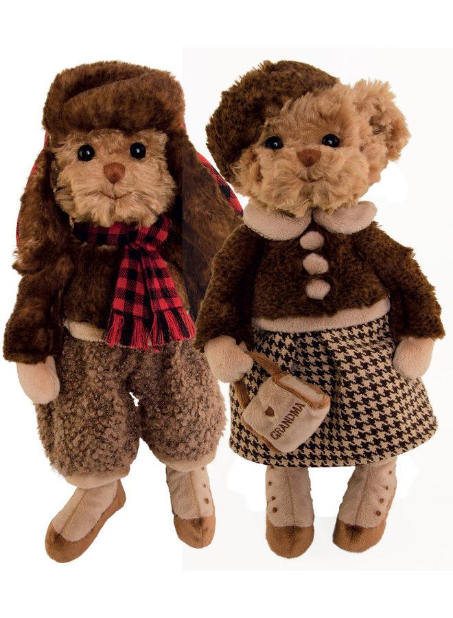 Teddybären - Staffan & Grandma Eleonora (30cm)