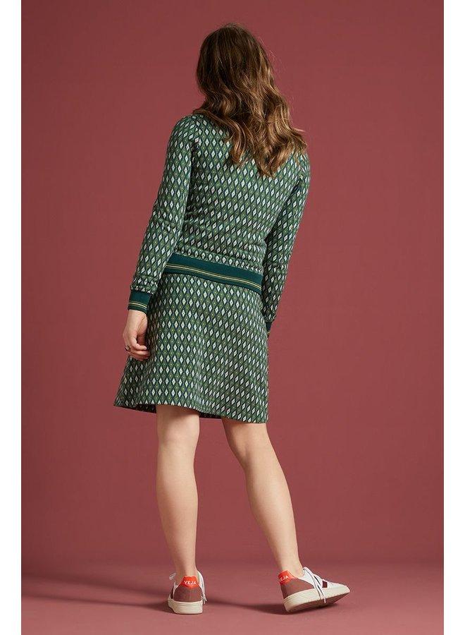 Rock - Border Skirt Deuce - Pine Green