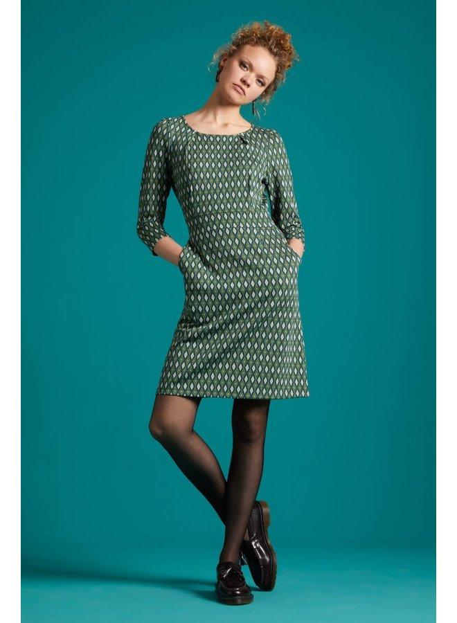 Kleid - Mona Dress Deuce - Pine Green