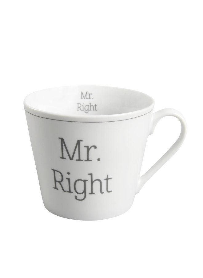 Tasse Happy Cup - Mr. Right