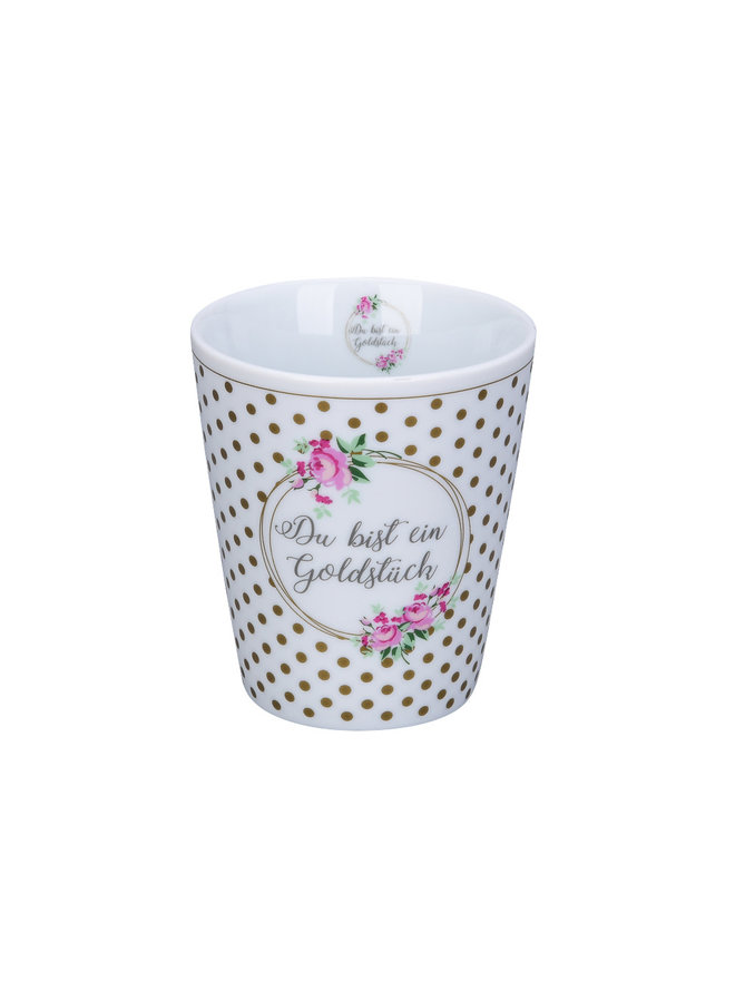 Tasse Happy Mug - Du bist ein Goldstück